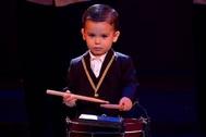 Hugo Molina, de dos años, consigue el pase de oro en Got Talent