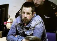 """magen de la televisión que retransmite el juicio contra José Enrique Abuín Gey, alias el Chicle, principal acusado por el crimen de Diana Quer hace uso de su derecho a la última palabra para pedir """"nuevamente perdón"""" a la familia de la víctima en el último día del juicio este martes en Santiago de Compostela"""