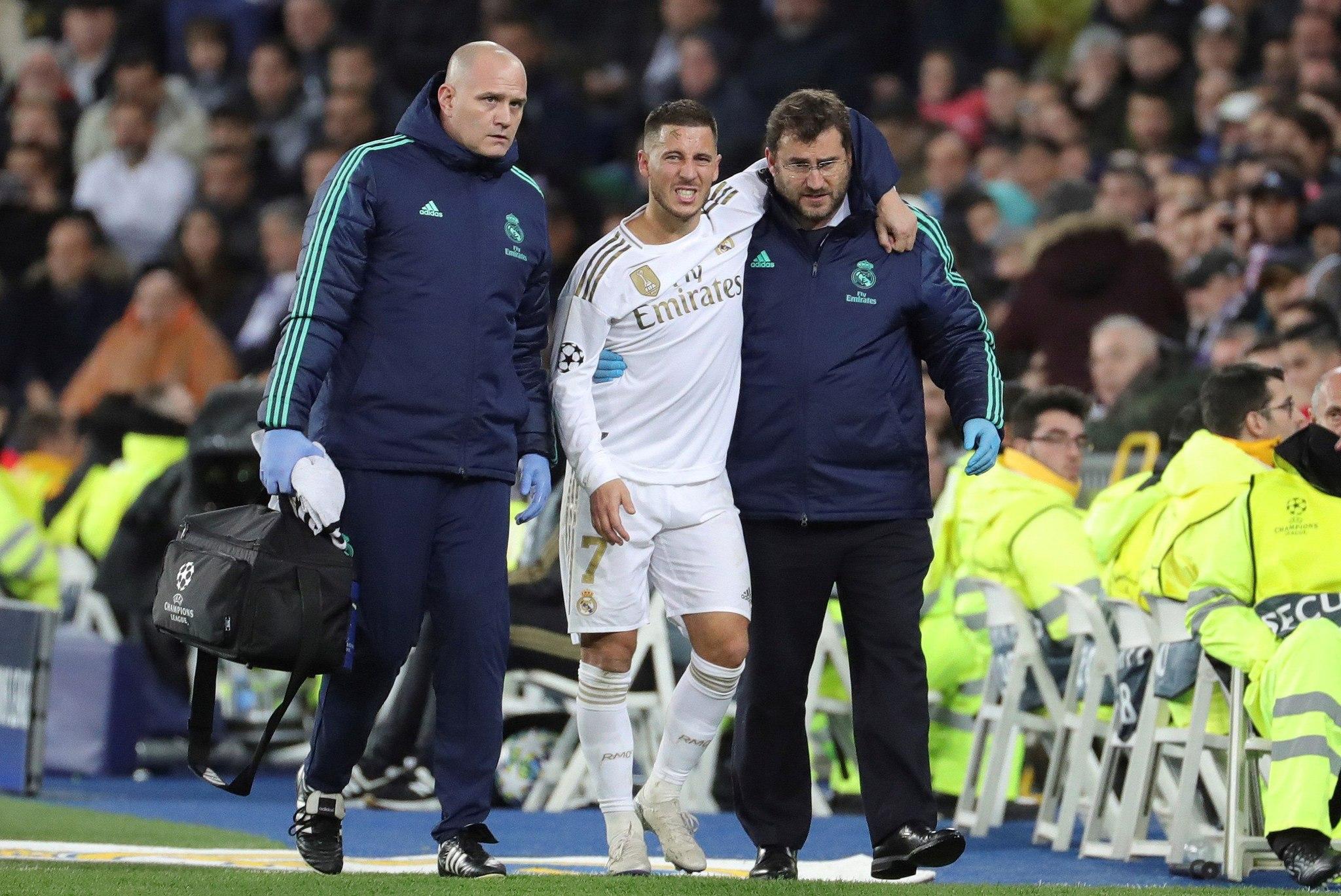GRAF7917. MADRID.- El delantero del Real Madrid <HIT>Hazard</HIT> (c)...