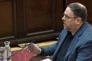 Oriol Junqueras, durante su turno de última palabra en el juicio del 1-O.