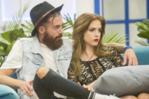 José María Lóez y Carlota Prado en GH Revolutio. | TELECINCO