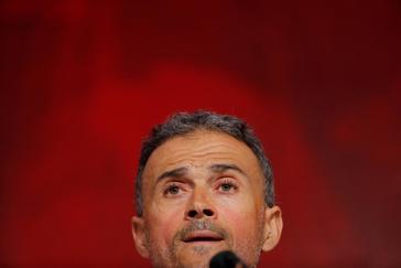 """Luis Enrique, en su presentación: """"Robert Moreno ha sido desleal"""""""