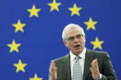 Josep Borrell, como presidente del Parlamento Europeo, en 2006.