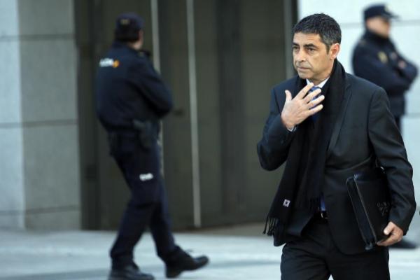 Josep Lluís Trapero, mayor de los Mossos d'Esquadra cuando se...