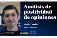 Charla sobre el 'Análisis de positividad de opiniones' desde Mercadona Tech (19:00h.)