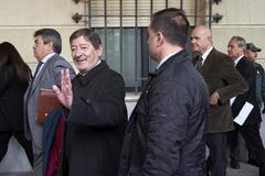 El ex director general de Trabajo, Javier Guerrero, el día que se conoció la sentencia de los ERE.