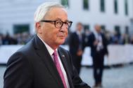 Jean-Claude Juncker, en Salzburgo.