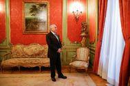 Sergio Enriquez-Nistal. 27/11/2019. Madrid. Madrid. Michel <HIT>Temer</HIT>, expresidente de Brasil