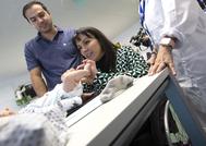 Madre Yasmina Andres , Padre Rafael Garcia, hijo Rafael.
