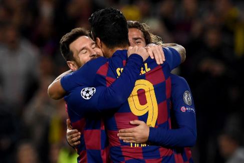 Messi niega el ocaso del Barcelona