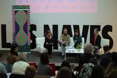Presentación del proyecto 'Graners de Creació' en la sede de Las Naves en Valencia.