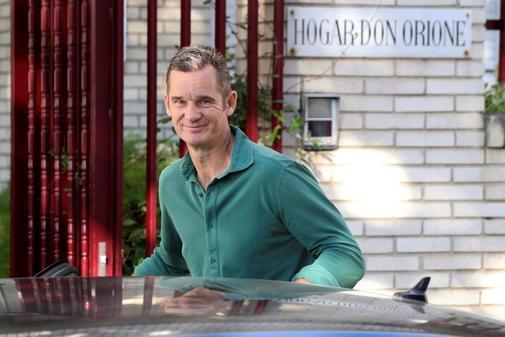 Iñaki Urdangarín llega este martes al Hogar Don Orione en Pozuelo de...