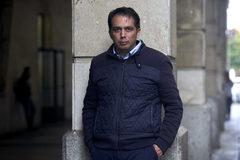 Roberto Macías, a las puertas de los juzgados de Sevilla.