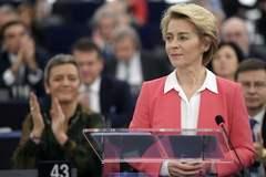 Ursula von der Leyen en Estrasburgo.