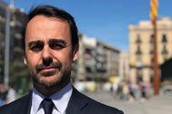 El portavoz del PP en Barcelona, Óscar Ramírez.