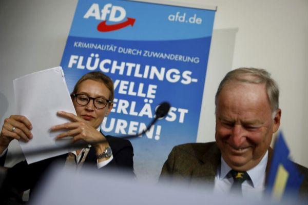 Polémico gesto de una diputada de AfD en el Parlamento