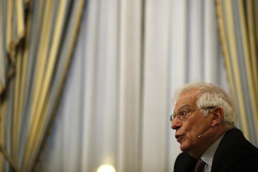 El ministro de Asuntos Exteriores en funciones, Josep Borrell,...