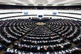 Sesión del Parlamento europeo.