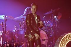 El vocalista de The Killers, Brendan Flowers.