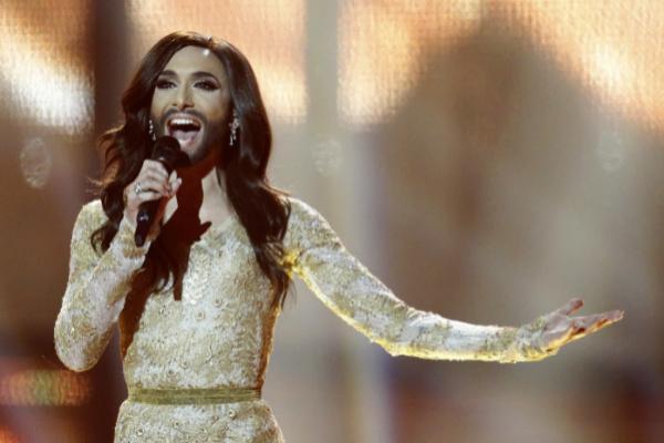 Conchita Wurst en el festival de Eurovisión