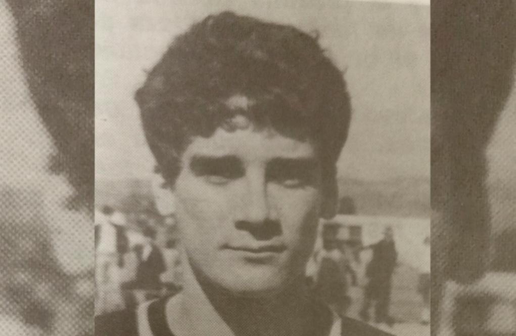 Ximo Bautista García, en su época de fútbolista. Llegó a jugar en Deportivo Castellón.