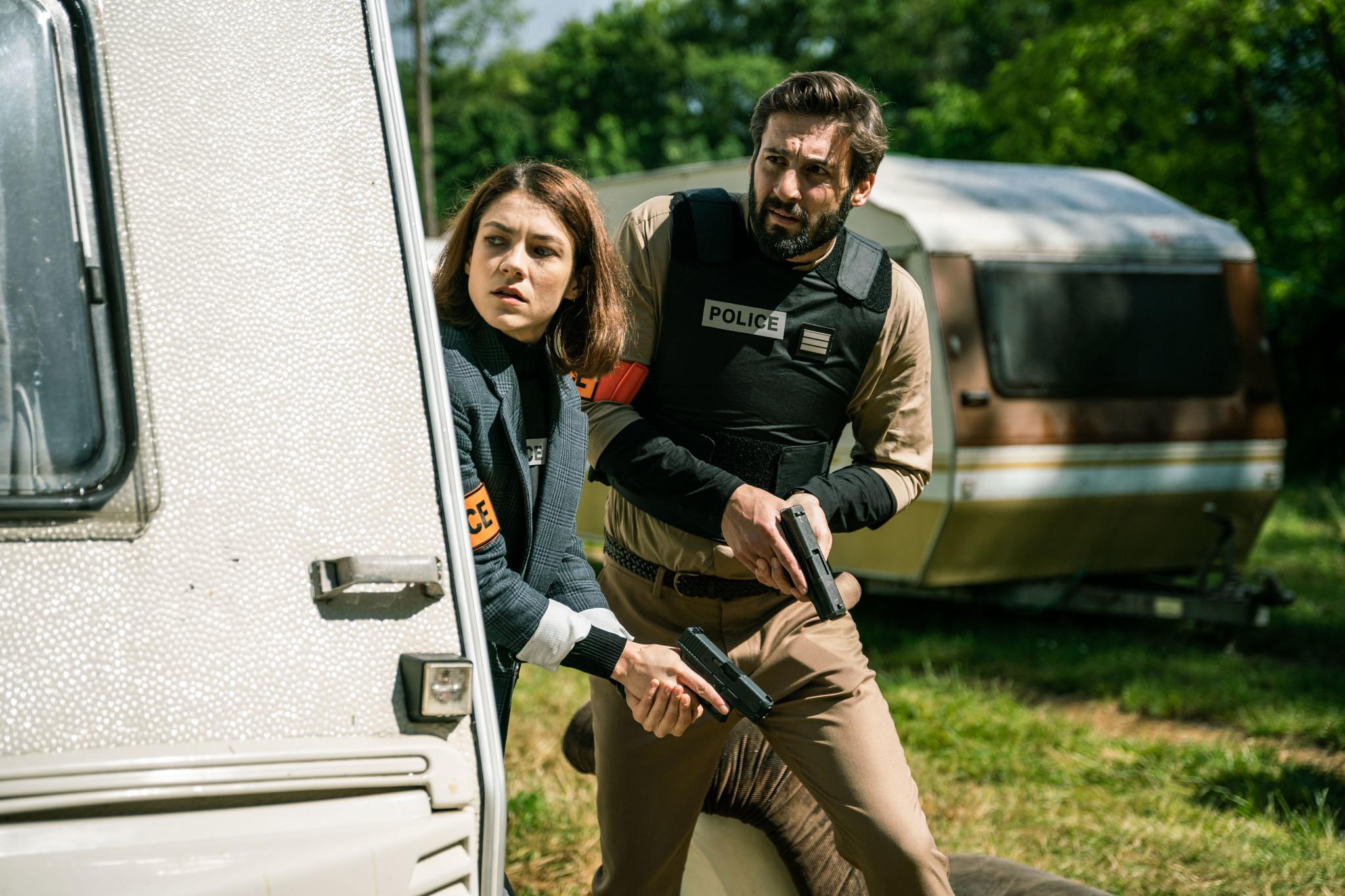 """'Trauma': """"Un tiro en la cabeza a la ficción policiaca francesa"""""""