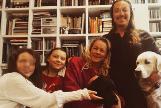 Greta y su familia, en una imagen el Instagram de la adolescente.