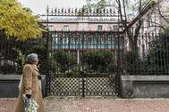 Instituto Homeopático, en la calle Eloy Gonzalo de Madrid.
