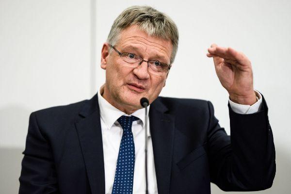 Brunswick (Germany).- Newly re-elected co-chairman Joerg Meuthen...