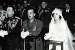 Franco y Carmen se casaron el 16 de octubre de 1923