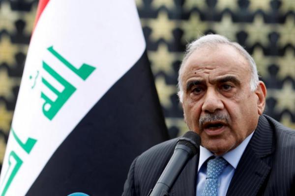 El primer ministro iraquí Adel Abdul Mahdi renuncia al cargo.