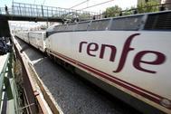 Estación de Renfe en Hospitalet.