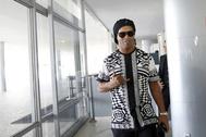 Ronaldinho Gaucho, durante un acto en Brasilia.