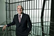 Luis de Guindos, en la sede del BCE en Frankfurt.