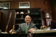 Joaquín Arias en su despacho de Vectalia, el holding familiar.