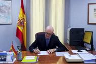 José Ramón Ferrnadis, en su despacho.