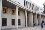 La comisaría provincial de Málaga.