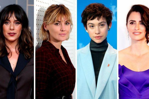 Belén Cuesta (i), Marta Nieto (2i), Greta Fernández (2d) y...
