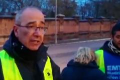 """Así presiona el comité de huelga a los conductores de la EMT: """"La gente te va a reventar la moto"""""""
