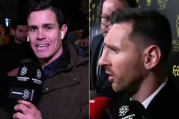 Los cortes de Messi y Ter Stegen a Edu Aguirre (El Chiringuito) en la...