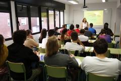 Alumnos de un instituto de la Comunidad de Madrid.