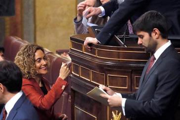 Meritxell Batet, reelegida presidenta del Congreso en segunda votación