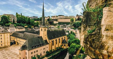 Panorámica de Luxemburgo.