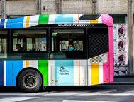 Uno de los autobuses que circularán por Luxemburgo de forma gratuita.