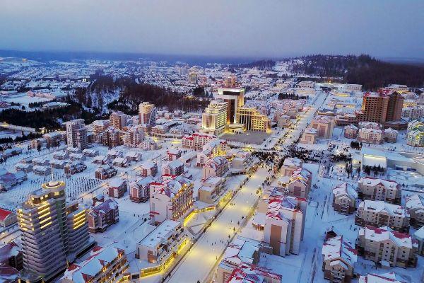 Bienvenidos a Samjiyon, la nueva ciudad que Kim Jong-un ha inaugurado en Corea del Norte