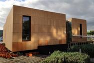 Casa solar ubicada en el campus de Teatinos en Málaga.