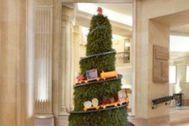 Imagen de una de las creaciones en el hotel