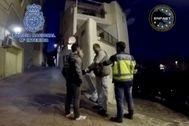 Fotografía de la detención facilitada por la Policía Nacional