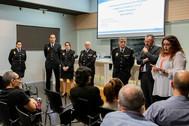 Jornada de prevención de agresiones en el ámbito sanitario celebrada en el Departamento de Dénia.