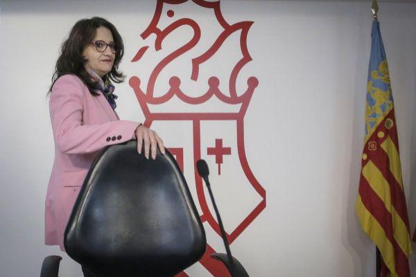 Mònica Oltra, vicepresidenta del Gobierno valenciano.